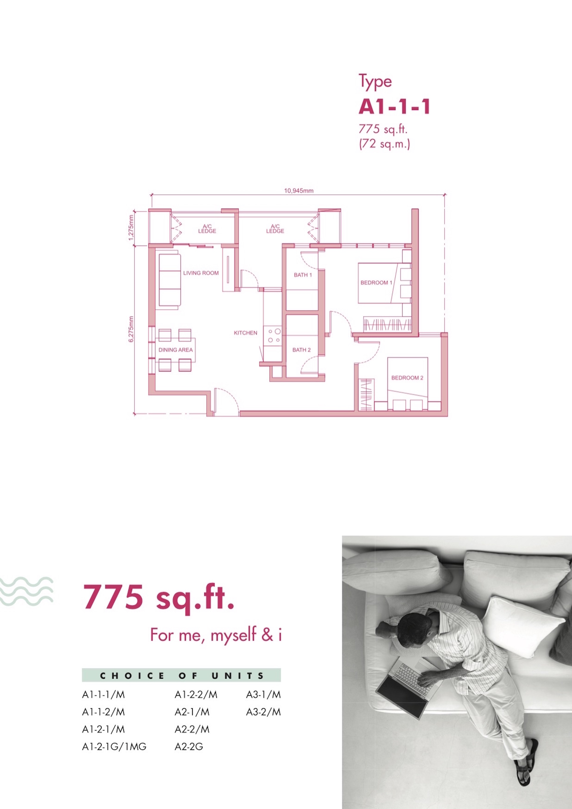 Floor Plan 1 Fortune Centra